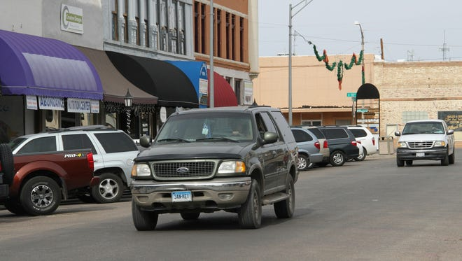 A few Small Business Saturday customers had to look for a parking space on New York Avenue Saturday.