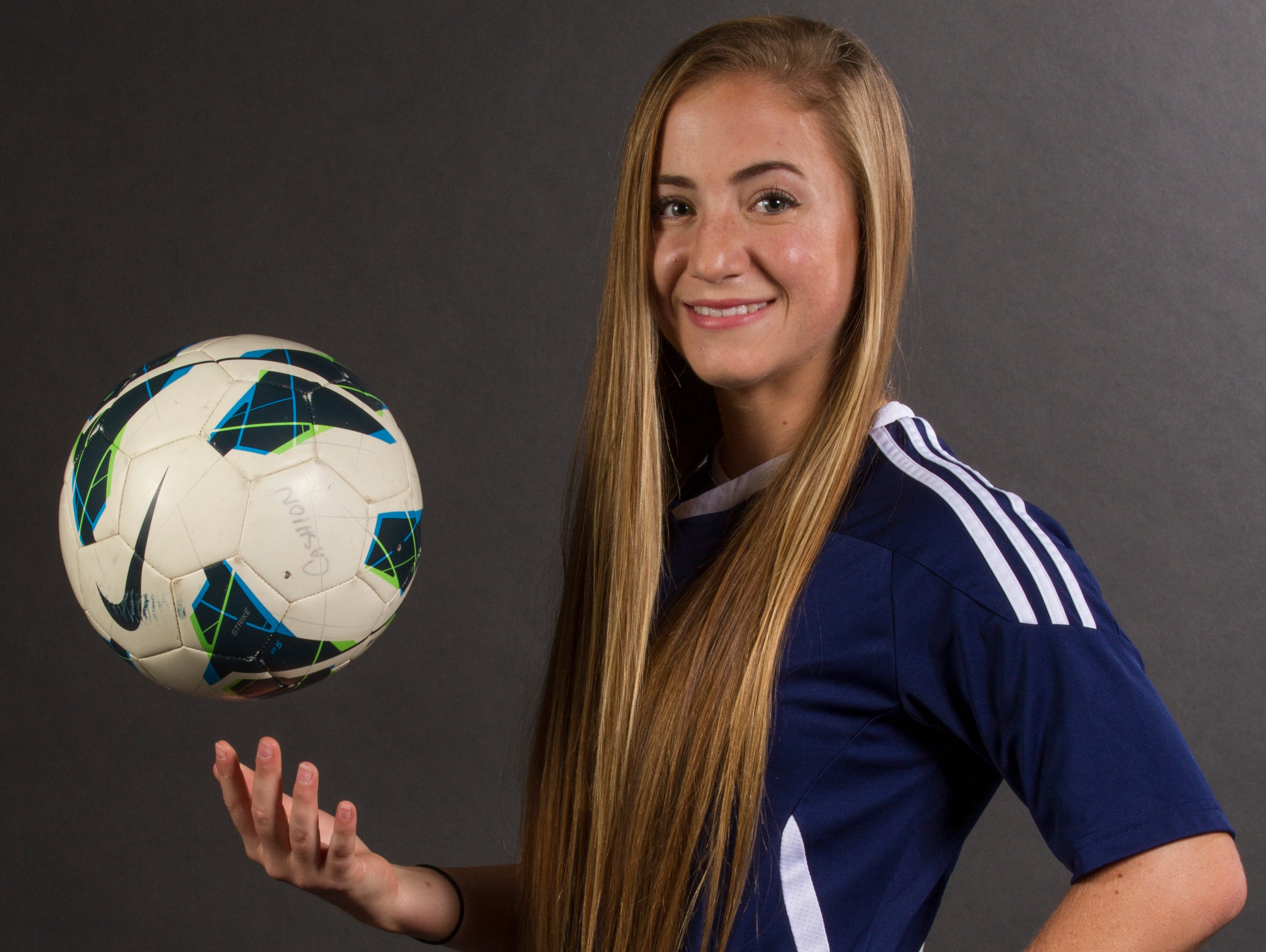 Taylor Hatch, 18, is a senior soccer player at Estero High School.