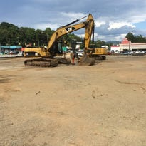 A Chipotle Mexican Grill, a Starbucks coffee shop and a Stanton Optical are planned for this 2.8-acre site at the corner of Patton Avenue and Florida in West Asheville.