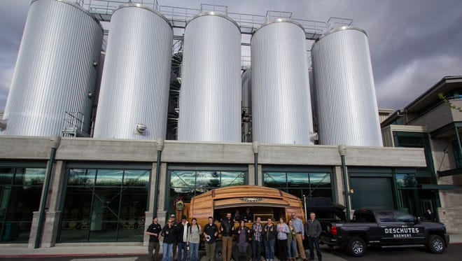 Deschutes Brewery of Bend, Oregon remains highly interested in Asheville as a possible location for its eastern expansion. Company president Michael LaLonde will travel here again this month to visit local brewers.
