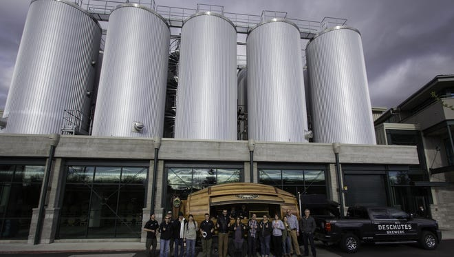 Deschutes Brewery will build its eastern U.S. expansion in Roanoke, Virginia, rather than Asheville.