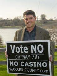 Longtime gambling opponent Tom Coates believes some