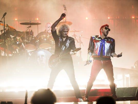 Queen + Adam Lambert concert