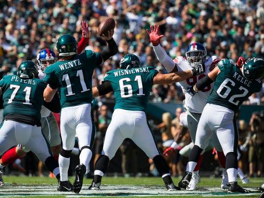 Sports: Eagles-Giants