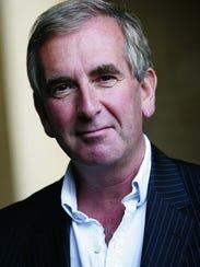 Author Robert Harris.