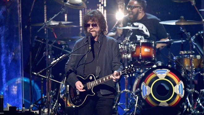 Jeff Lynne of ELO performs onstage at the Rock and Roll Hall Of Fame induction ceremony at Barclays Center on April 7, 2017, in New York.