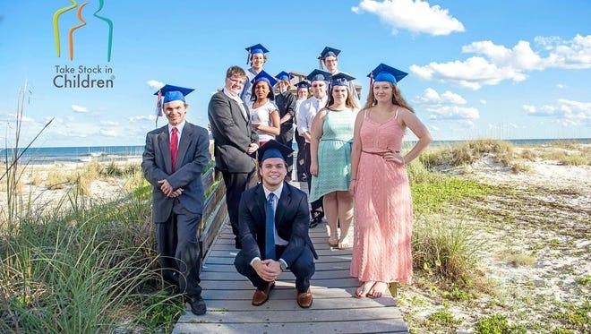 Santa Rosa County Take Stock in Children graduates.