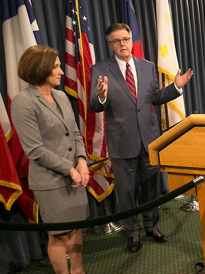 Texas Lt. Gov. Dan Patrick and Senator Lois Kolkhorst introduced Senate Bill 6 known as the Texas Privacy Act.