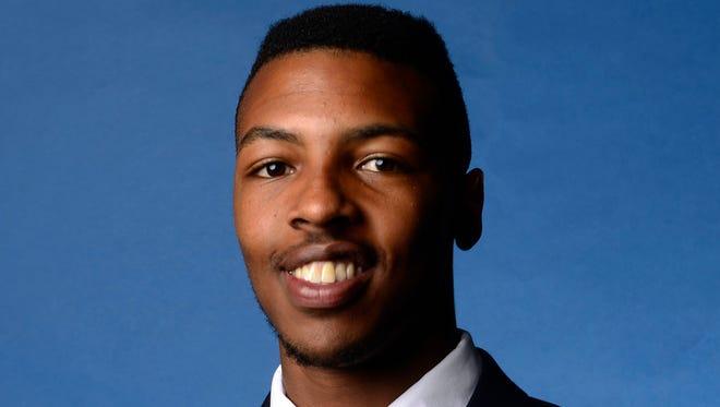 Freshman H-back Jakell Mitchell was murder on Sunday.