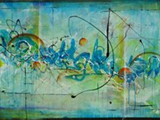 The art of abstract artist John Terrell.