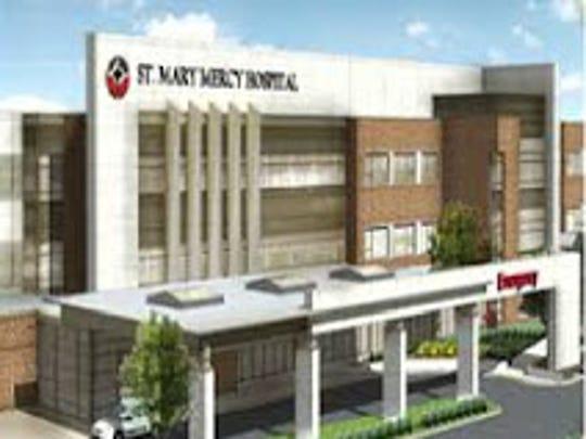 St. Mary Mercy Hospital in Livonia.