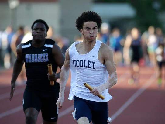 Nicolet's David Dunlap was the Journal Sentinel's boys