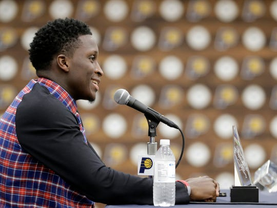 Oladipo sees the Pacers' player-friendly culture as