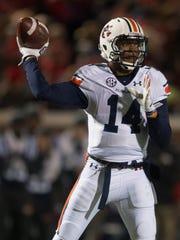 Auburn quarterback Nick Marshall is one of 16 semifinalists