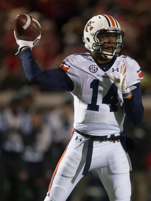 Auburn quarterback Nick Marshall is one of 16 semifinalists for the Davey O'Brien award.