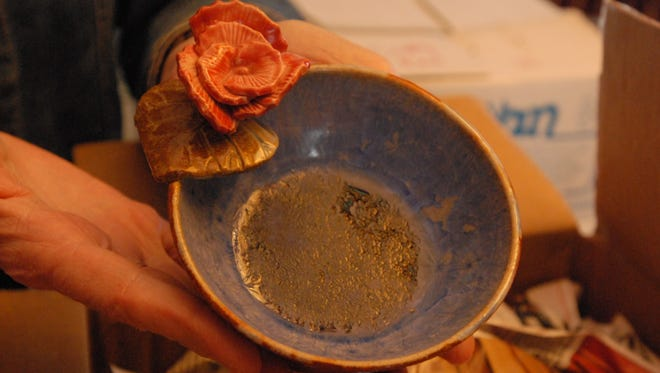 A bowl by potter Veronica Mainguy will be among those for sale at the Empty Bowls fundraiser for Mid City Nutrition.