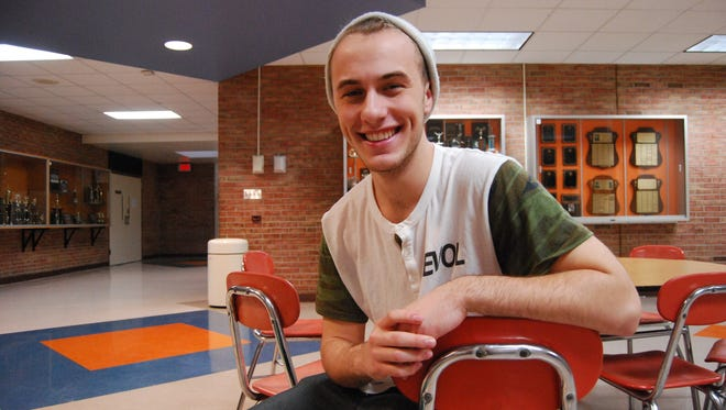 """Matt Copley, a senior at Marine City High School, will play Jean Valjean in """"Les Misérables""""  and also will be in """"Hockey, The Musical!"""" written by Mitch Albom."""
