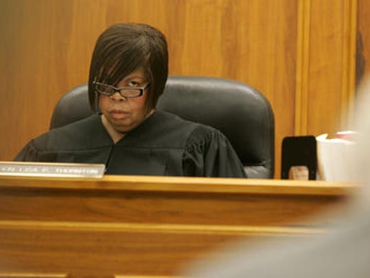 Superior Court Judge Lisa Thornton, in a September 2011 photo. (Asbury Park Press staff photo by Tanya Breen)