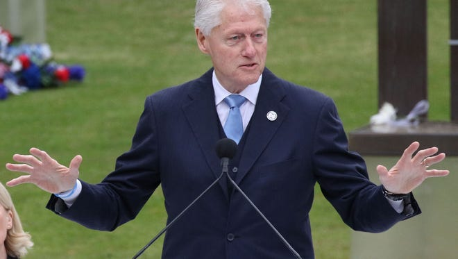 Former President Bill Clinton will be on Michigan State University's campus next month as the first recipient of the Spartan Statesmanship Award for Distinguished Public Service.