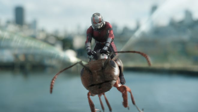 "Paul Rudd plays Ant-Man in ""Ant-Man and the Wasp."""