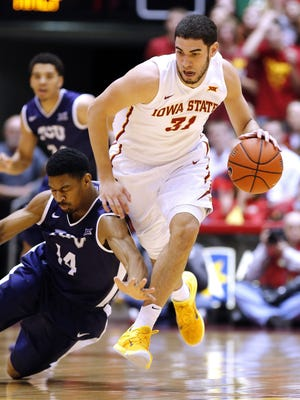Georges Niang #31 led the Cyclones to a win over TCU.