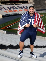 UTEP lineman Will Hernandez is a pre-season second