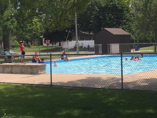 Schools pools and vegetables define pantown park for Garden city pool 2015