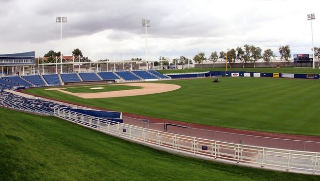 The Brewers' spring training home is in Maryvale.