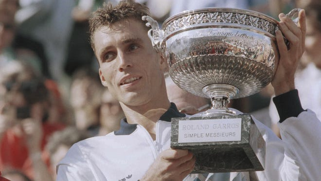 """What is the difference between hitting a serve and then a drop shot or just a drop shot right away?"" says Ivan Lendl, an eight-time Grand Slam champion. ""I don't see a difference."""