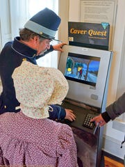 The Caver Quest program also is available at Fort Stanton museum.