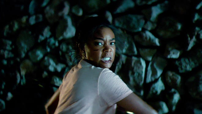 "Shaun (Gabrielle Union) will stop at nothing to retrieve her children in ""Breaking In."""