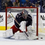 The Columbus Blue Jackets gave up two deflected goals in their 3-2 overtime loss to the Colorado Avalanche Tuesday.