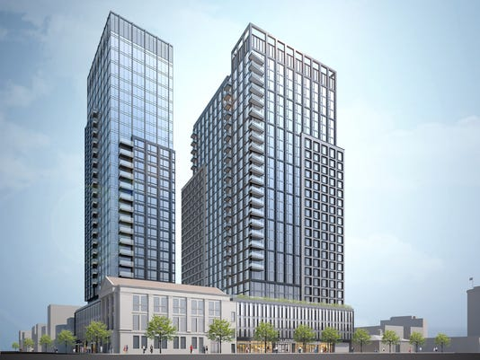 Rendering of project at 14 LeCount Place