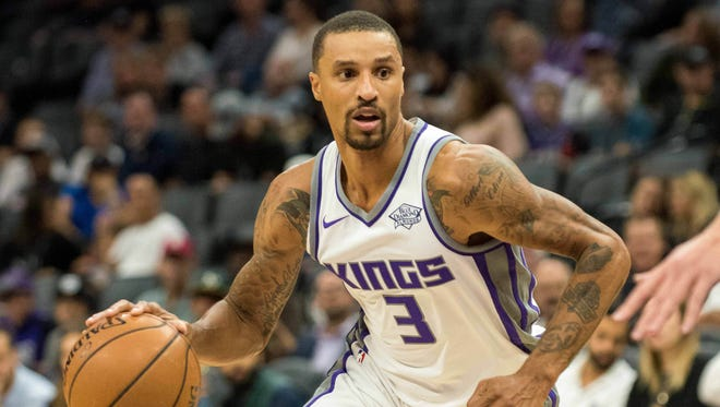 Sacramento Kings guard George Hill (3)