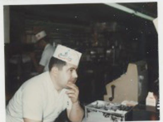 Bill Skenteris at Palmetto Fine Foods in the 1970s.