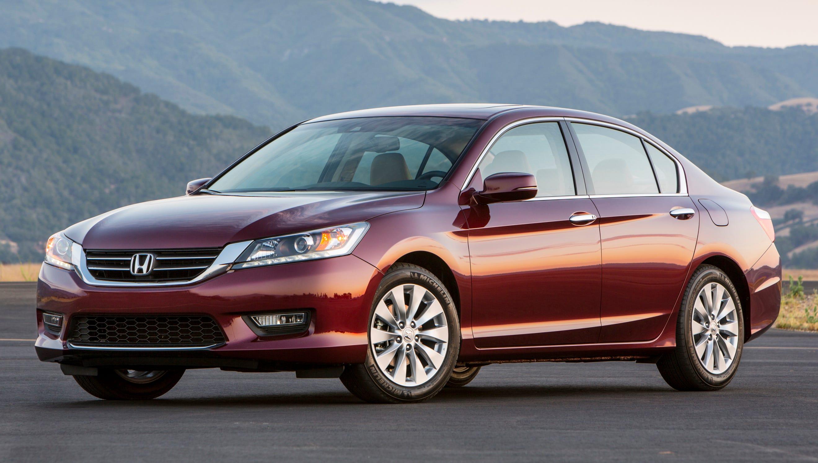 This year's Edmunds.com Top 10 Best Cars for Short Drivers includes the popula Honda Accord sedan starting at $22,479 (a 2013 Honda Accord EX-L V-6 sedan shown here).