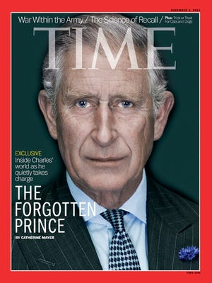Prince Charles on cover of 'Time'