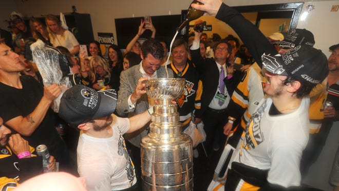 The Penguins' team president said on Tuesday that they would visit the White House if invited.