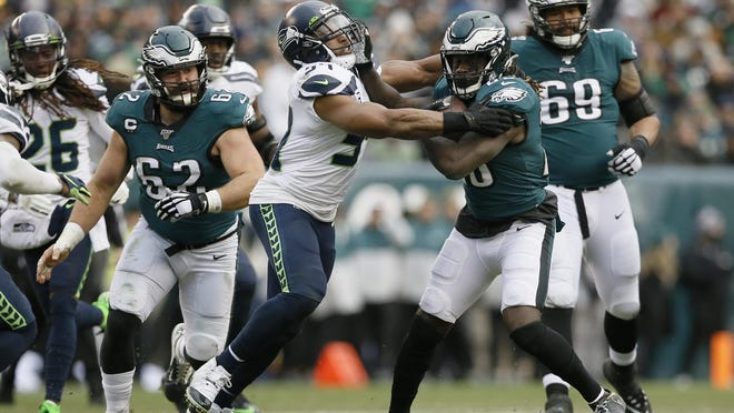 Seattle beat Philadelphia on Nov. 24, 17-9, and quarterback Russell Wilson is 4-0 against the Eagles.