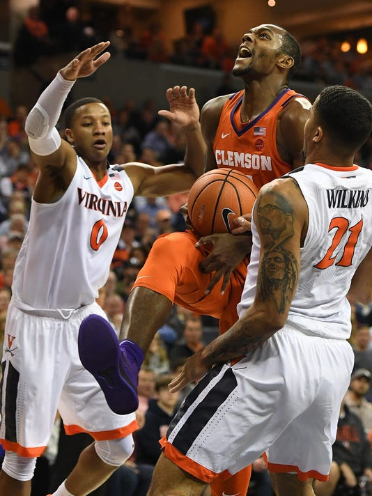 Clemson Virginia Basketball