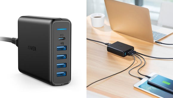 Charger all your devices in one place.
