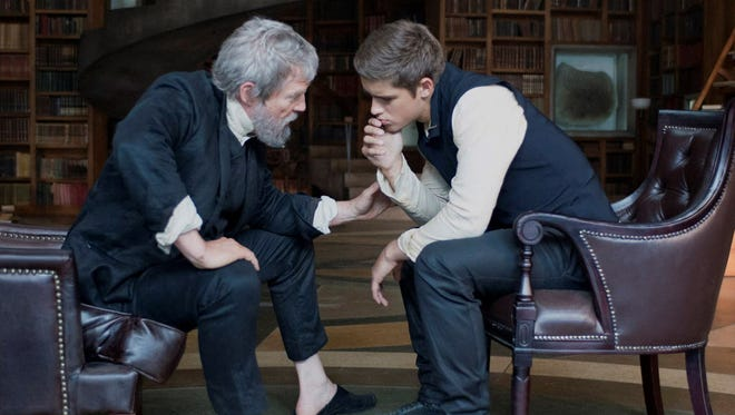 Jeff Bridges plays The Giver and Brenton Thwaites is the chosen Receiver of Memories in a movie based on a 1993 novel.