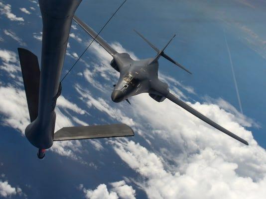 U.S. Air Force B-1B Lancers