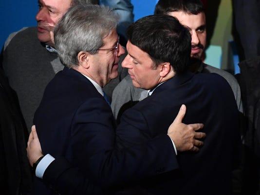 EPA ITALY ELECTIONS POL ELECTIONS ITA