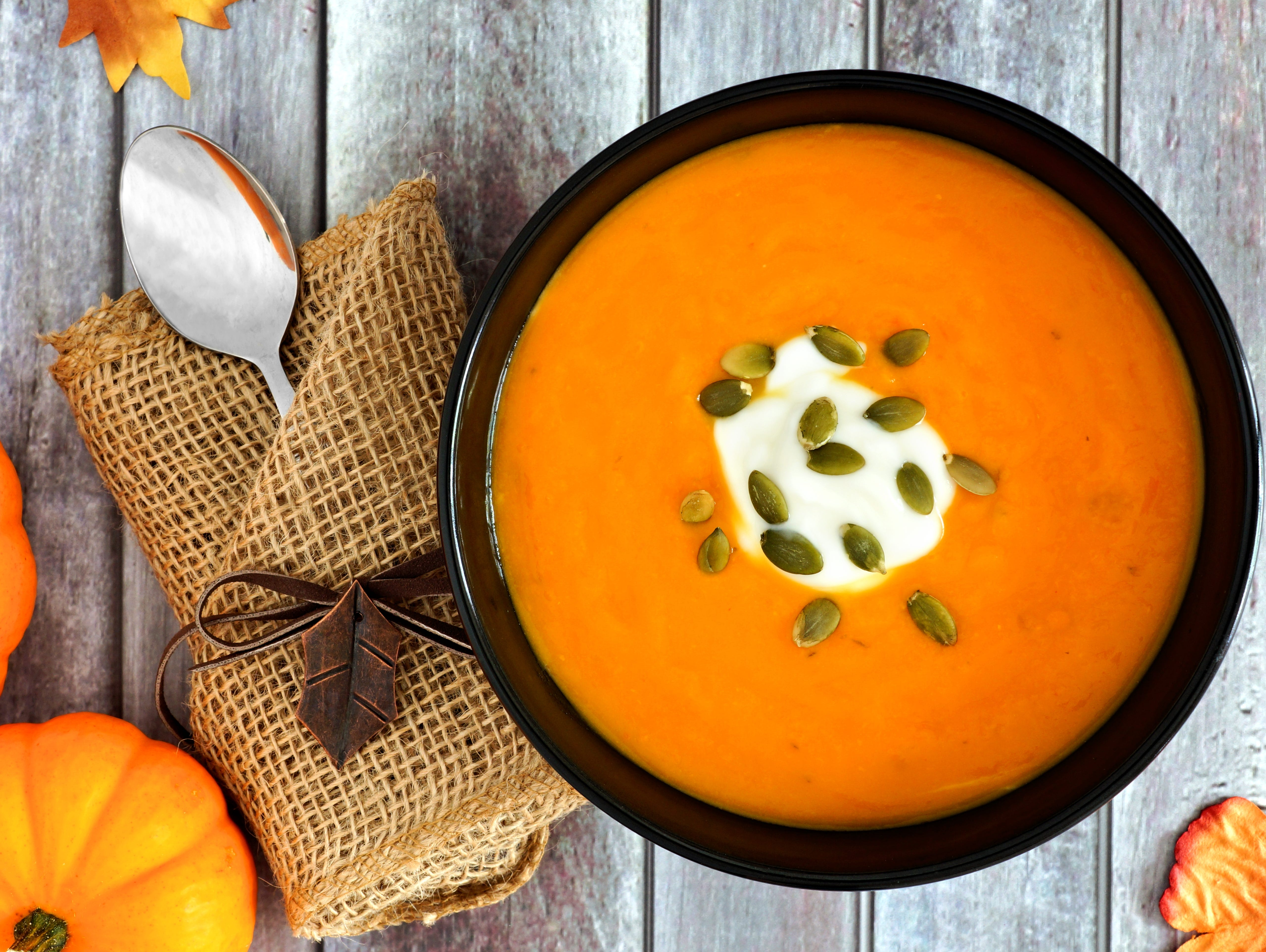 Pumpkins are a hearty autumn fruit and  the perfect main ingredient for many dishes.