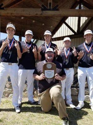 The Quanah boys golf team won their seventh consecutive district title last week.