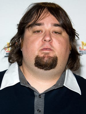 Austin Lee Russell, 'Chumlee' of the reality cable TV show 'Pawn Stars,' in May 2010. in New York at   A&E Network's Upfront.