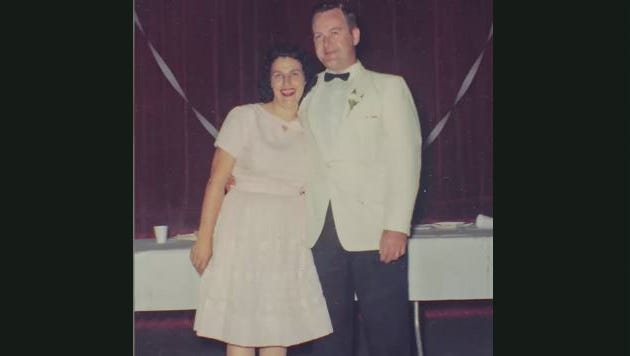 Betty and James Stambaugh were married for 64 years.