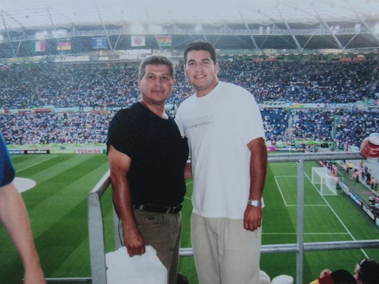 Photo of Juan Perezchica and his son JC Perezchica
