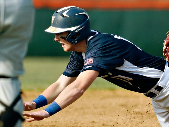 West York's Robbie Bertucio is the York-Adams Division III Pitcher of the Year. YORK DISPATCH FILE PHOTO